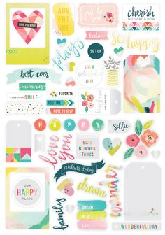 Fancy Free by Paige Evans | Pink Paislee - ephemera/die cuts