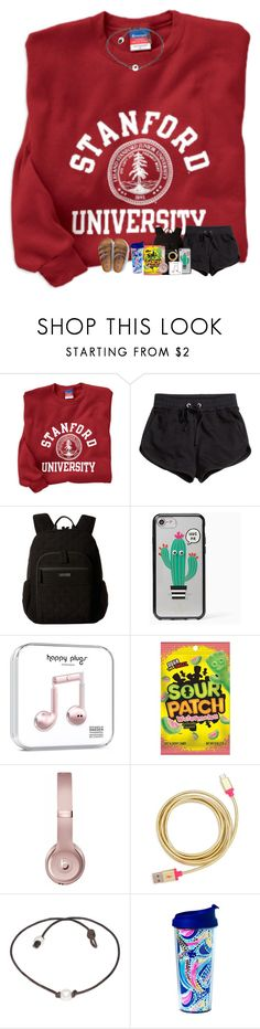 """morning loves "" by arieannahicks on Polyvore featuring H&M, Vera Bradley, Kate Spade, Beats by Dr. Dre, ban.do, Lilly Pulitzer and American Eagle Outfitters"