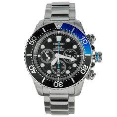 Seiko Solar Chronograph Divers  Mens Watch SSC017P1