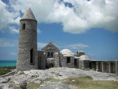 The Hermitage, on Cat Island. the highest point in the Bahamas. Built completely by hand by Father Jerome.