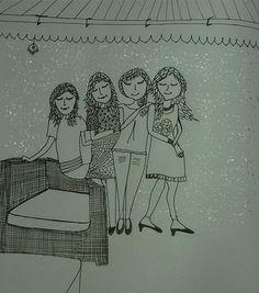 Doodle My Life & My Besties ~ By Hima Javvadi