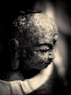 Jizo statue at Koyasan, Japan