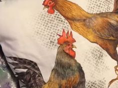 A really good demonstration of Inktense pencils on fabric by Jacqueline Holmgren. myb