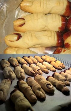 Halloween Cookies: Bloody Fingers! | HOLIDAY RECIPE | Creative Inspiration Blog - Electric Wonder Creative: Art/Design | Retouching | Consulting