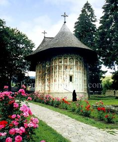 Humor Painted Monastery Image - The Painted Monasteries of Bucovina & Moldova Wonderful Places, Beautiful Places, Republic Of Macedonia, Moldova, Eastern Europe, Places To See, The Good Place, Cathedral, Slovenia