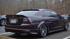 Acura TL Type S [Third Generation (UA6-UA7)] Tuner Cars, Jdm Cars, Honda Accord Custom, Acura Tsx, Honda Cars, Cool Gear, Future Car, Sexy Cars, Honda Civic