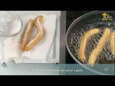 Receta de churros caseros - YouTube