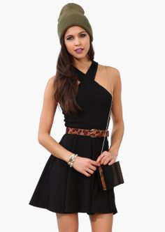 An adorable little black dress
