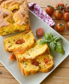Plumcake ai pomodorini e provola |CuciniAmo con Chicca