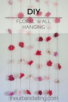 I like the idea of one of these in the secret garden area somehow and perhaps in my floral cutting garden entrances as well, it could be so much more beautiful and real looking, I could def make it in a way that I could atleast plan on it lasting outside for a year.  Floral, artificial flowers, floral hanging, flowers, wall haning, floral wall hanging, flower wall hanging, DIY, decorations, party