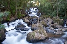 Waterfall in Valle de Bravo, Mexico