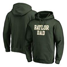 Baylor Bears Fanatics Branded Big & Tall Team Dad Pullover Hoodie - Green