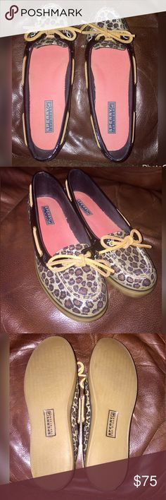 🎉Host Pick🎉Sperry Top Sider Glitter Cheetah 7.5M 🎉Host Pick 4/5/2017🎉Sperry Top Sider Glitter Cheetah Print Size 7.5 M, New Without Box, Smoke & Pet Free Home Sperry Top-Sider Shoes Flats & Loafers