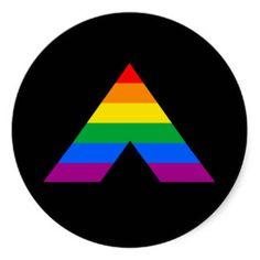 gay pride ally | Straight Ally Symbol Stickers
