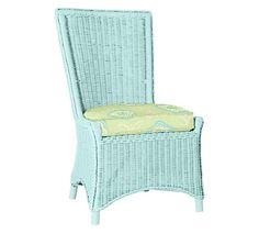 August Dining Chair | Maine Cottage #wickerfurniture