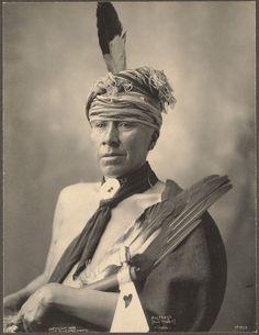 Holy Rabbit (Mosteose) Iowa 1899. Frank A. Rinehart