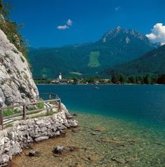 Beautiful Alps#Bürglsteinweg bei Strobl# Wolfgangsee# Austria#mountain lake