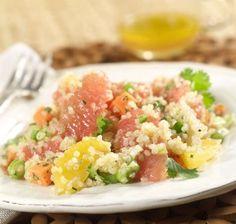 How To Make Grapefruit Quinoa Salad
