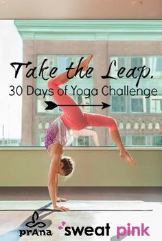 Prana Sweat Pink #TaketheLeap Challenge