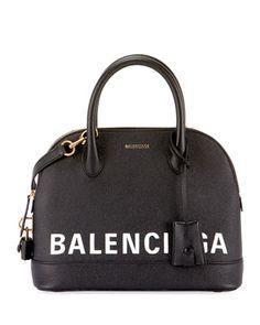 Ville+Leather+Top+Handle+Bag+by+Balenciaga+at+Bergdorf+Goodman.