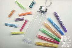 Rauhoittumispullo - apuväline tunteiden käsittelemiseen Water Bottle, Drinks, Drinking, Beverages, Water Bottles, Drink, Beverage