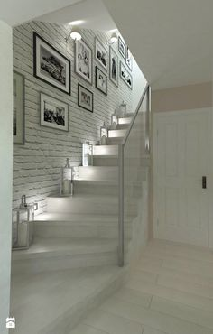 hallway decorating 140807925838251611 - Trendy basement stairs lighting ideas Ideas Source by apaudreyprice Basement Stairs, House Stairs, Basement Ideas, Hallway Ideas, Home Stairs Design, Home Interior Design, Hallway Decorating, Interior Decorating, Home Deco