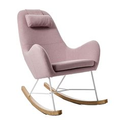 Iggy Rocking Chair Blush