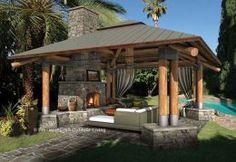 29 Best Gazebo Fireplace Images Hot Tub Gazebo Balcony Gardens