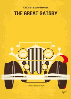 The Great Gatsby, Baz Luhrmann #Movie poster