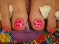 FANTASY NAILS - PEDICURE DESIGN