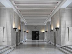 Deco - University of London interior