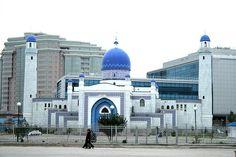 Blue Mosque, Atyrau, Kazakhstan