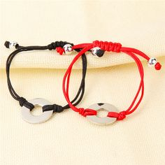 Yiwu Aceon Stainless Steel Jewelry Gift Hand Braid Rope Washer Bracelet With your logo Washer Bracelet, Red String Bracelet, Stainless Steel Jewelry, Braid, Jewelry Gifts, Logo, Bracelets, Stuff To Buy, Logos