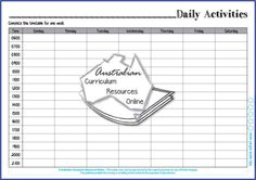 ACMMG139-Daily Activities