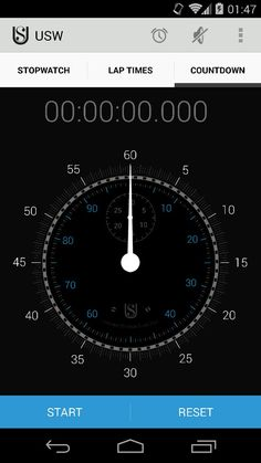 Ultimate Stoppwatch - Countdown | #ui #android