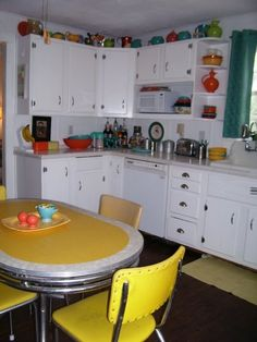 This is my 50s kitchen.  :D