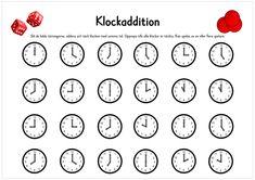 Klockaddition