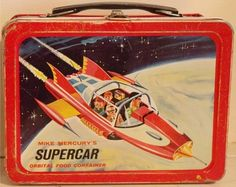 1962 Mike Mercury's Supercar Orbital Food Container