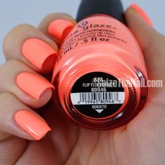 Flip Flop Fantasy China Glaze.... My favorite color for this summer! ♡ love it…