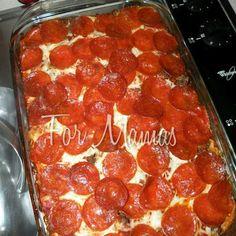 Pizza Casserole Recipe | Key Ingredient
