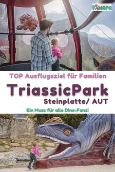 Steinplatte - Triassic Park - Austria - KiMaPa - History is dry and boring? Not in the Triassic Park on the Steinplatte-Waidring! There, big and sma - Fun Outdoor Games, Outdoor Fun For Kids, Amazing Gardens, Beautiful Gardens, Outdoor Venues, Salzburg, Diy Garden Decor, Vacation Trips, Austria