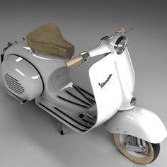 piaggio vespa 3ds Vespa Ape, Piaggio Vespa, Lambretta Scooter, Scooter Motorcycle, Vespa Scooters, Scooter Scooter, Vintage Vespa, Vintage Bikes, Classic Vespa