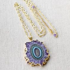 Quartz pendant necklace  Stalactite necklaceQuartz necklace  Necklace  Boho necklace  Gemstone necklace  Wellness necklace