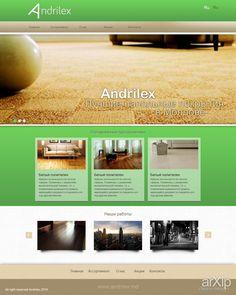Andrilex: веб-дизайн, бизнес сайт, минимализм #webdesign #busines #minimalism arXip.com