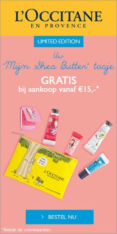 Shea butter actie benl Occitane En Provence, Shea Butter