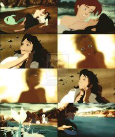 Aron, Erica, Disney Gender Bender, Little Mermaid by EvilSephiroth89.deviantart.com on @deviantART