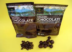 Back in October, I spotlighted a bunch of Fair Trade products. One of my favorites of the bunch was the Kopali Organic Chocolate Covere. Organic Chocolate, Vegan Chocolate, Cacao Nibs, Chocolate Covered, Espresso, Beans, Sweets, Recipes, Food