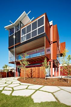 Industrial House by Sedunary, Lake & Partners (SLAP) in Paynesville, VIC (Grand Designs Australia)