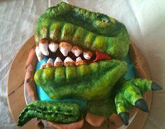 Medusa's Cakes: Tarta dinosaurio T- Rex / T-Rex Cake