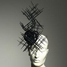 Black Graphic by Philip Treacy, as featured in 'Iris van Herpen: SHOWcabinet'. £2,500 (Excludes VAT)